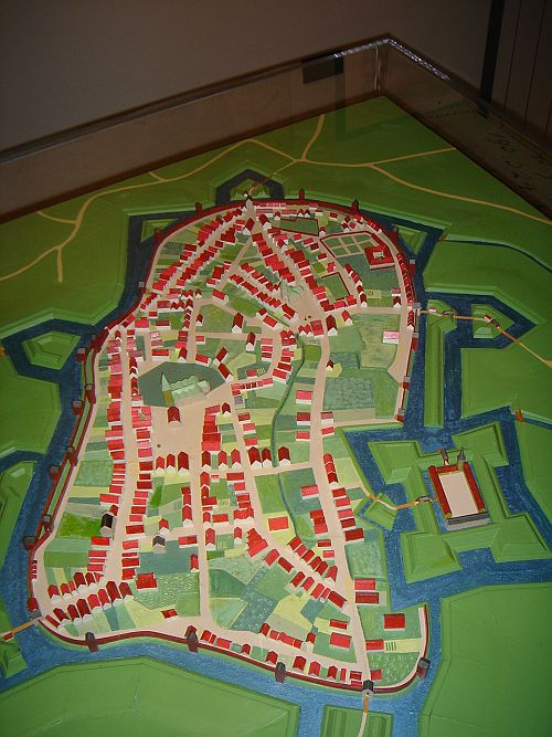 Stadtmodell WD 1630