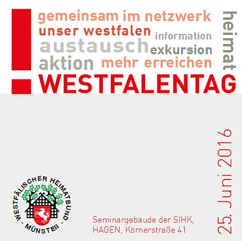 Plakat Heimattag Hagen