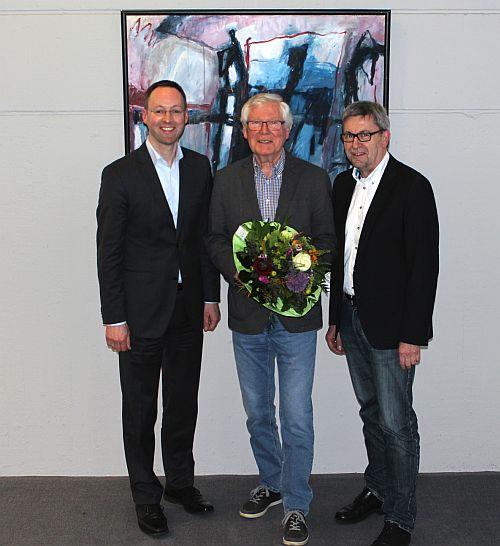 Offizieller Dank der Stadt an Manfred Schumacher