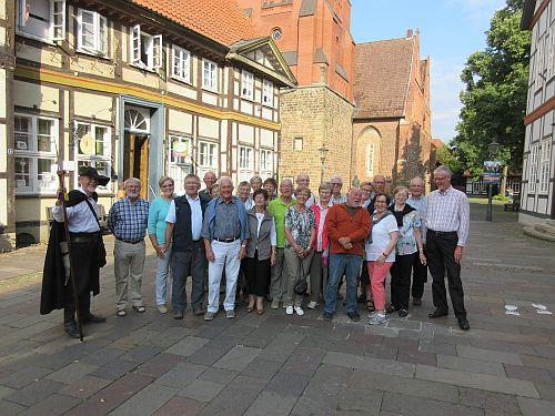 Heimatfreunde Wiedenbrück auf Tour